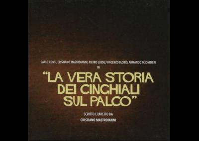 Cristiano Mastroianni- Cinghiali sul Palco