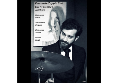 Emanuele Zappia 5et Live at Gregory's Jazz Club
